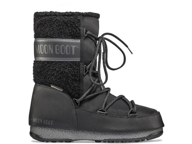 Moon Boot Monaco Wool Wp Keskivartiset talvikengät Naiset, black